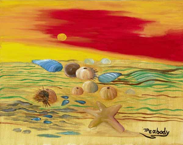 Beach Combing - 15x18w - $125