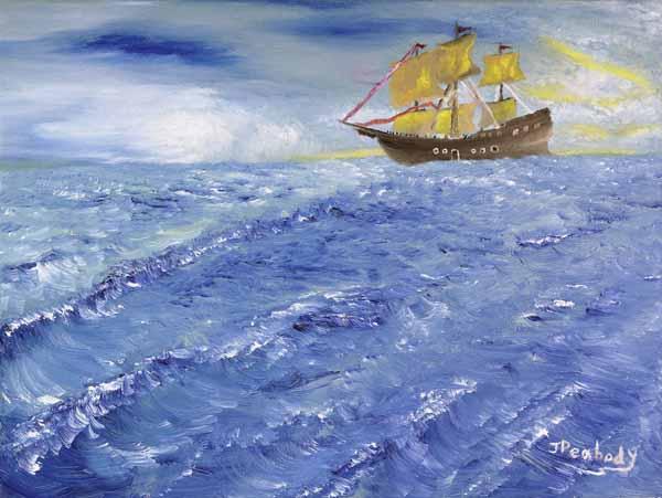 High Seas - 16x20w - 16.20w - $125