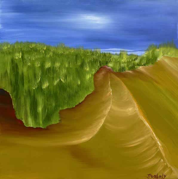 Sand Dunes - 24x24w - $175